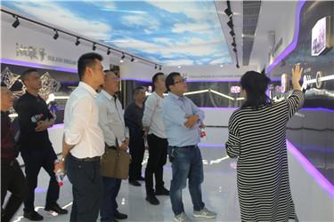 民建湖南省第九届资源与环境委员会全体委员来我司参观